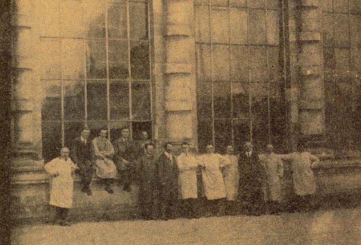 Histoire vitraillistes Barthe Bordereau