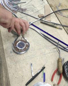 atelier spécialisé vitrail Angers France