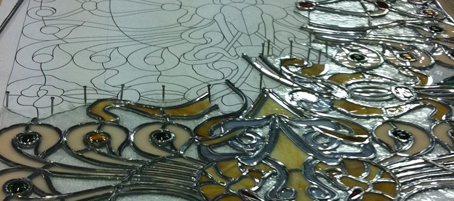 creation vitrail figuratif