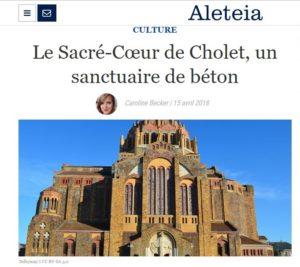 Chantier restauration vitraux Cholet