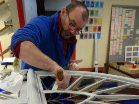 monteur atelier vitrail