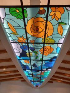 Arelier création vitrail contemporain