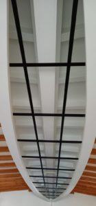 Création de vitrail pour une verrière de plafond